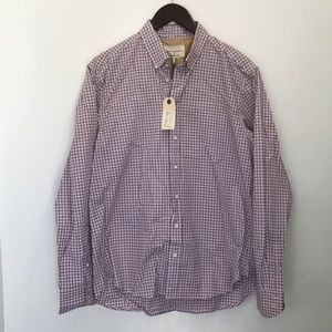 Men's RAG & BONE Button Down Dress Shirt M